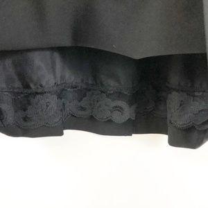Trina Turk Dresses - Trina Truk Black Wool Tailored Open Back Dress, 0
